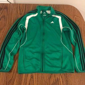 Adidas Green Training Jacket